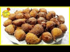 "FILHOSES DE ABÓBORA - 🍎 ""Receitas do Paraíso"" - YouTube Portuguese Desserts, Portuguese Recipes, Custard Tart, Pretzel Bites, Biscuits, Almond, Dessert Recipes, Baking, Meals"