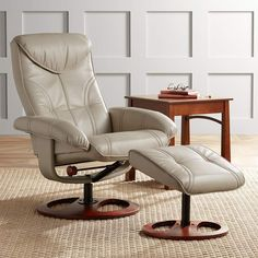 Shop a great selection of Newport Taupe Swivel Recliner Slanted Ottoman. Find new offer and Similar products for Newport Taupe Swivel Recliner Slanted Ottoman. Swivel Recliner Chairs, Chair And Ottoman, Ottoman Furniture, Farmhouse Recliner Chairs, Rv Recliners, Sectional Sofas, Chair Cushions, Couches, Living Room Chairs