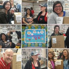 WOW Linda from Sizzix and Stacey chose FIVE BIG WINNERS in shop, at our National Scrapbooking Day Event! What did they win? They each won a SIZZIX BIG SHOT EXPRESS ~ (push button) that retails for $229.00 CONGRATULATIONS! #Scrapbookingmadesimple