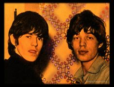 Keith Richards and Mick Jagger (around 1964)