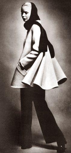 Philippe Venet, Vogue, September 1969. Photo Guy Bourdin