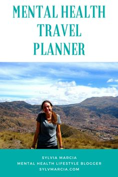 FREE Download-  Take care of your mental health while traveling! Traveling while struggling with anxiety and depression is never easy - this planner helps me keep it in check.