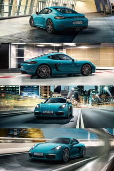 The new 718 Cayman lets its actions do the talking. Sporty actions, of course…