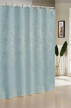 Duck River Hunterdon Jacquard Shower Curtain Polyester Features A Design Measurements L X W