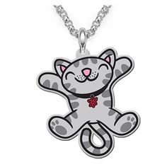 The Big Bang Theory Soft Kitty Necklace. For detail click on the image!
