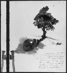 drawing by Victor Hugo