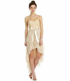 7b373bed2a teeze Me lace corkscrew Hi-Low dress Available at Dillards.com  Dillards
