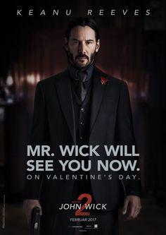 Aus dem Valentinstag wird WICKtory-Day. Previews und neue Poster zu John Wick 2.