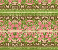 Spring_III fabric by cherb on Spoonflower - custom fabric