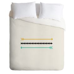 Allyson Johnson Minimal Arrows Duvet Cover | DENY Designs Home Accessories