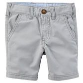 Crisp and classic, these canvas shorts are a must-have for spring. Pair them with a button-front and sweater vest for a handsome style.<br>