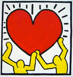 keith-haring - love his work!
