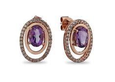 Gold Jewellery Design, Gold Jewelry, Jewelery, British Crown Jewels, Amethyst Earrings, Diamond Earrings, Gold Bangles, Semi Precious Gemstones, Stone Jewelry