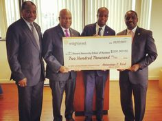 Enlightened donates $200,000 to the School of Business at @HowardUniv for the Center for Cybersecurity, Education and Research #ENLGivesBack