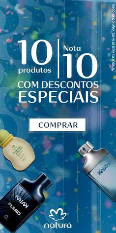 10 produtos nota 10 com descontos especiais pra você! Até 40% OFF, vem ver! Promoção válida de 13 a 16/fev, ou enquanto durarem os estoques.