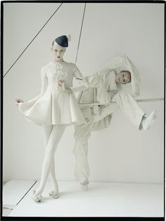 Karlie Kloss photographed by Tim Walker for the October 2010 issue.