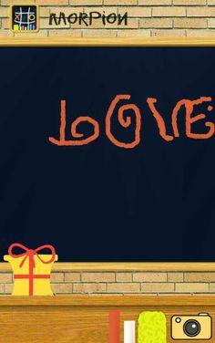 Love ecrit par un enfant