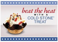 Buy One Get One Free Creations Coupon at Cold Stone Creamery