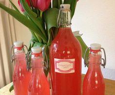 Rezept Rhabarbersaft - megalecker von Miss Kitchen - Rezept der Kategorie Getränke
