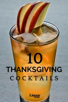 Still looking for the perfect drinks to serve on Thanksgiving? Fix these tasty recipes, which go with everything from turkey + stuffing to cranberry sauce. Thanksgiving Cocktails, Thanksgiving Appetizers, Thanksgiving Menu, Holiday Cocktails, Christmas Drinks, Halloween Drinks, Christmas Diy, Fall Recipes, Holiday Recipes