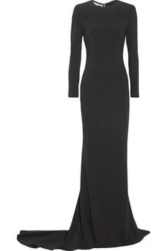 Stella McCartney - Renee Cutout Stretch-cady Gown - Black - IT40