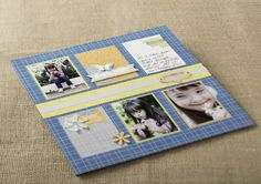 2013 Spring Catalog Projects : Days of Spring Scrapbook Layout Idea