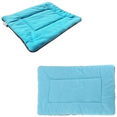 1Pcs Majestic Modern Pet Bed Sleep Mat Size XL Soft Pad Dog Plush Cozy Blanket Color Blue >>> Read more reviews of the product by visiting the link on the image.