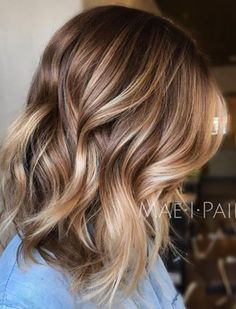 35 Light Brown Hair Color Ideas: Light Brown Hair with Highlights and Lowlights | TRHs