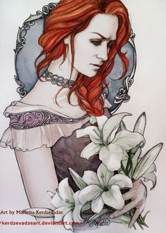 lilly Potter by KerdzevadzeART on DeviantArt