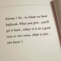 islam, karma, and allah image Hadith Quotes, Quran Quotes Love, Quran Quotes Inspirational, Muslim Quotes, Words Quotes, Quotes About Allah, Imam Ali Quotes, Allah Quotes, Karma Quotes
