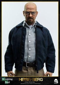 [THREEZERO] Breaking Bad: Figura do personagem Walter White – Heisenberg