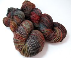 Hand+Painted+Dyed+MCN+Fingering+Sock+Yarn+US+by+FiberFangirl,+$24.50