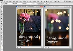 how to merge two photos