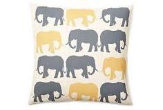 yellow gray pillows - Google Search