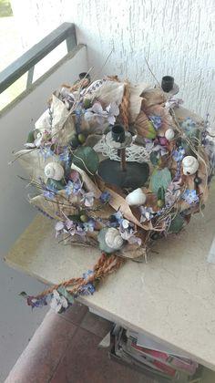 Summer wreath.