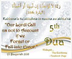 5th Du'a