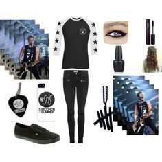 """""""Billboard Awards seeing 5sos"""" by amaya173 on Polyvore 5sos Inspired Outfits, 5sos Outfits, 5sos Clothes, Hemmo1996, Stylish Outfits, Cute Outfits, 1d And 5sos, Band Merch, 5 Seconds Of Summer"""