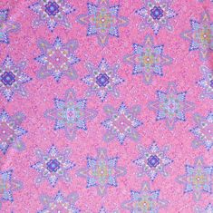 The Fabric Fairy Star Paisleys Nylon Spandex Swimsuit Fabric