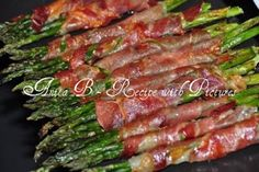Recipe With Pictures: Baked Asparagus wrapped in Prosciutto
