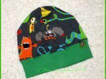 """Beanie-Mütze """"Monster"""" 47-49 cm KU"""