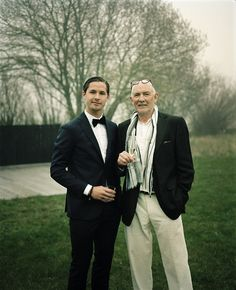 Brother Philip and dad, by Anders Hviid, via Flickr