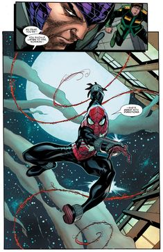 Peter Parker - The Spectacular Spider-Man 305 Spiderman Comic Books, Spiderman Suits, Spiderman Art, Amazing Spiderman, Marvel Universe, Avengers, Comic Book Pages, Marvel Comic Character, Comic Panels