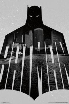 Batman - Text Poster Print (22 x 34) - Item # TIARP14547 - Posterazzi