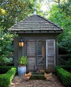Small garden sheds