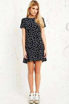 House of Hackney Squiggle A-Line Dress at Urban Outfitters