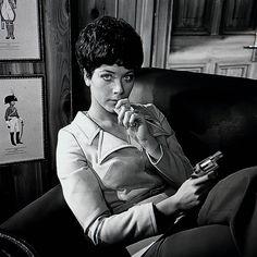 Linda thorson as Tara King  #taraking #Lindathorson #Avengers #retro #vintage #tv