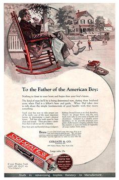 Colgate Ribbon Dental Cream -1923 Dental Art, Dental Teeth, Vintage Advertisements, Vintage Ads, Vintage India, Oral Surgery, Dental Assistant, Old Ads, Going To Work