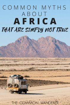 How many myths about Africa have you heard? There's no doubt a lot, so we've decided to go myth-busting and debunk the most common.