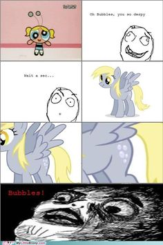 My Little Pony: Friendship is Magic Derpy Bubbles O.O