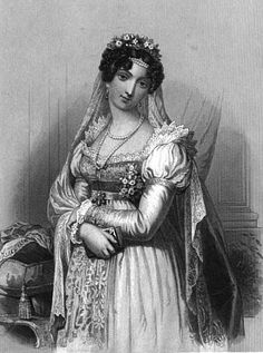 Laure Junot in Napoléonic court dress from The Court of Napoleon | Grand Ladies | gogm